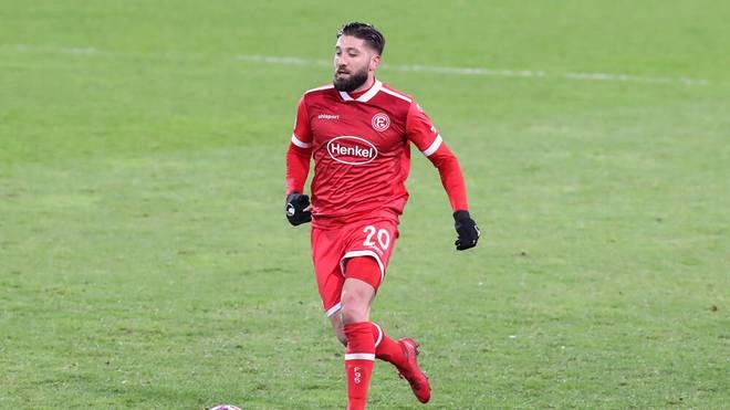 Gelingt Brandon Borrello und Fortuna Düsseldorf der Sprung auf Platz zwei?