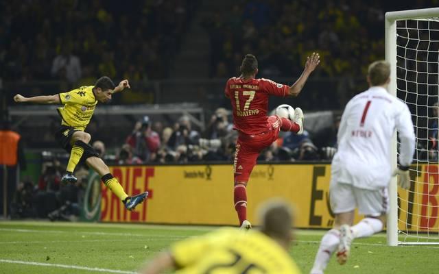 Robert Lewandowski traf gegen seinen späteren Klub im Finale gleich drei Mal