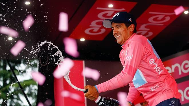 Richard Carapaz hat als erster Ecuadorianer den Giro d'Italia gewonnen