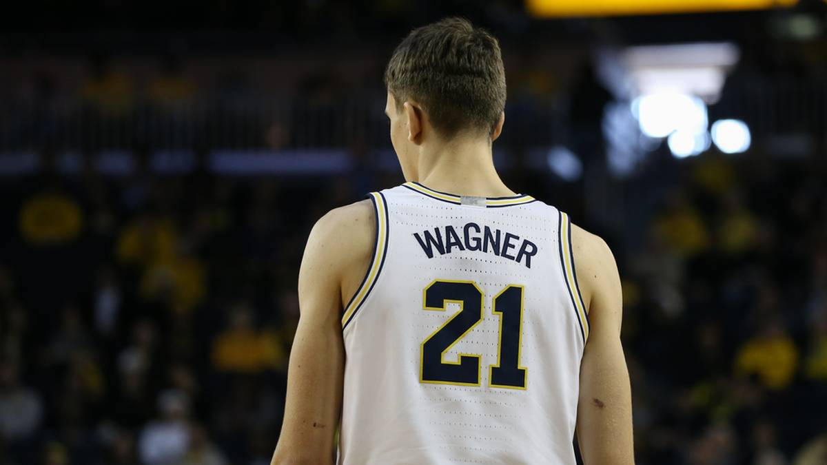 Franz Wagner spielte am College für die Michigan Wolverines