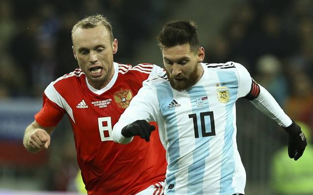 Russia vs Argentina - International Friendly