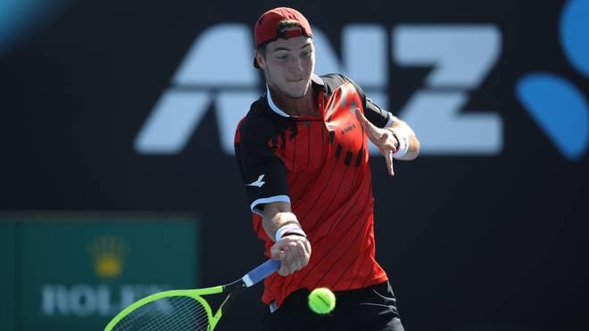 Tennis, Indian Wells mit Struff, Marterer, Kohlschreiber, Petkovic,  Jan-Lennard Struff steht in Indian Wells in der zweiten Runde