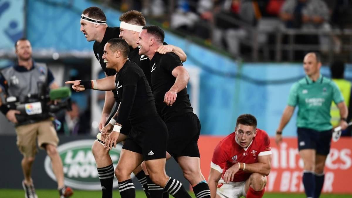 Neuseeland hat sich gegen Wales die Bronzemedaille bei der Rugby-WM gesichert