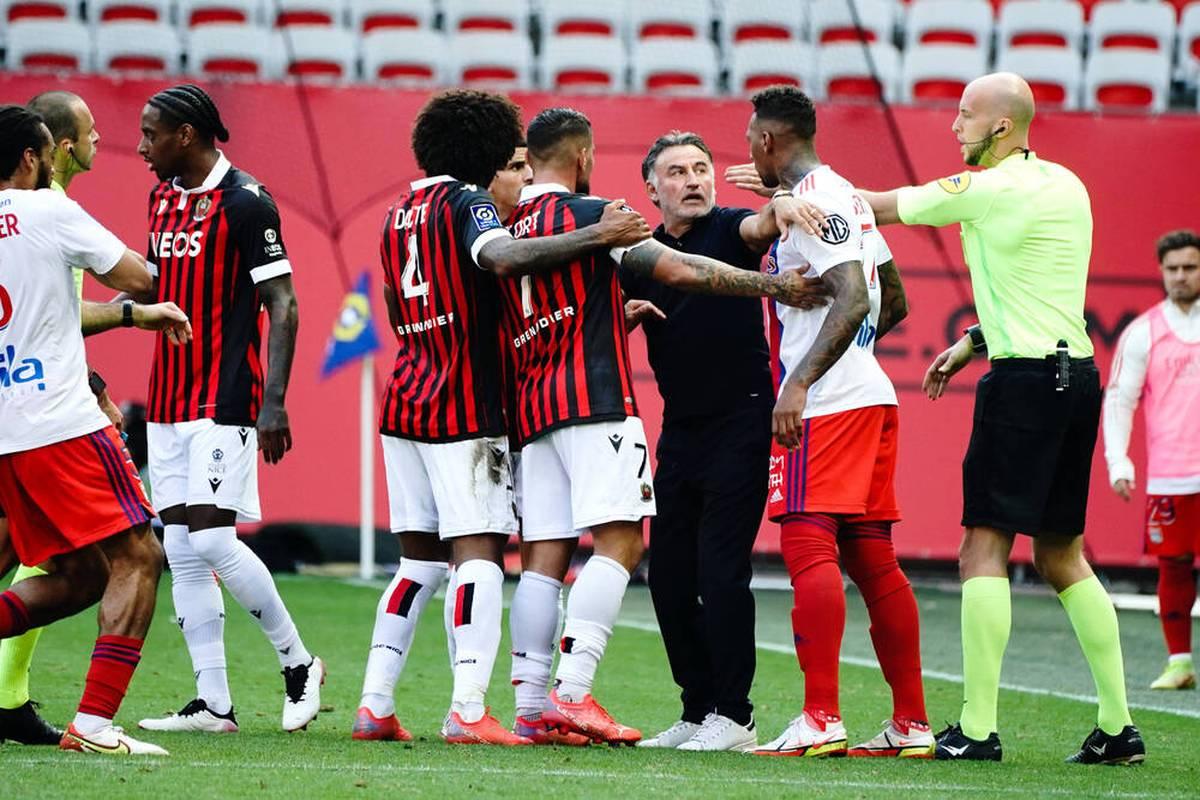 OGC Nizza gewinnt sein Heimspiel am 11. Spieltag der Ligue 1 gegen Olympique Lyon. Im Duell der beiden Ex-Bayern-Verteidiger Dante und Jerome Boateng hat der Brasilianer das glücklichere Ende für sich.