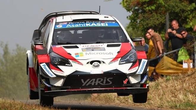 Ott Tänak geht bei der Rallye Deutschland als Führender in den Samstag