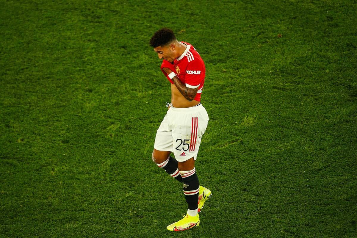 Der Ex-Dortmunder Jadon Sancho erlebt bei Manchester United einen schweren Start und erntet Kritik. Hans-Joachim Watzke leidet mit.