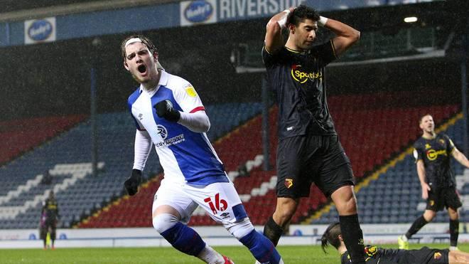 Harvey Elliott im Einsatz für die Blackburn Rovers