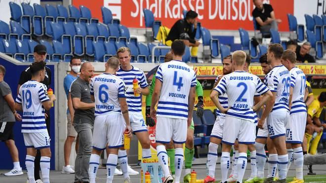 Der MSV Duisburg verpasste den Aufstieg in die 2. Bundesliga