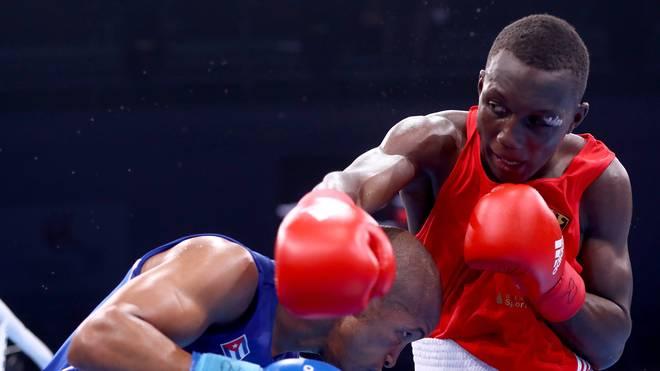 Abass Baraou v Roniel Iglesias Hamburg 2017 AIBA World Boxing Championships