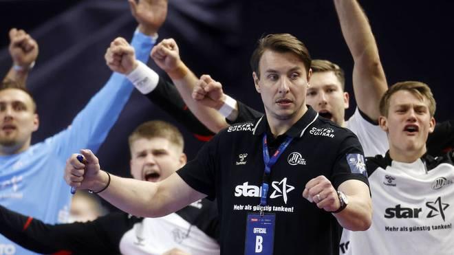 Der THW Kiel um Trainer Filip Jicha will den Titel in der Champions League