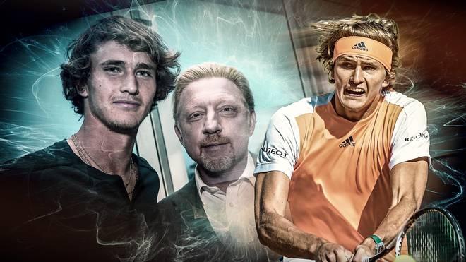 Alexander Zverev kann sich eine Zusammenarbeit mit Boris Becker vorstellen