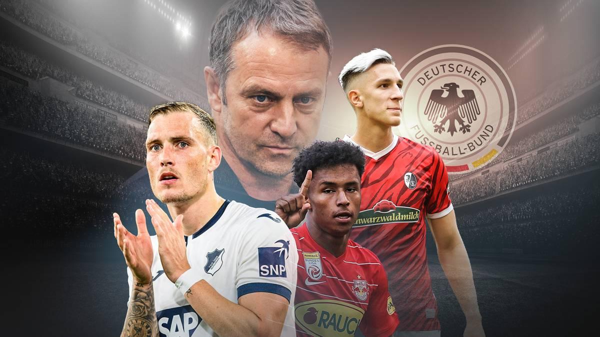 David Raum, Karim Adeyemi und Nico Schlotterbeck sind zum ersten Mal fürs DFB-Team nominiert. Lückenfüller oder langfristige Alternativen - SPORT1 macht den Check.