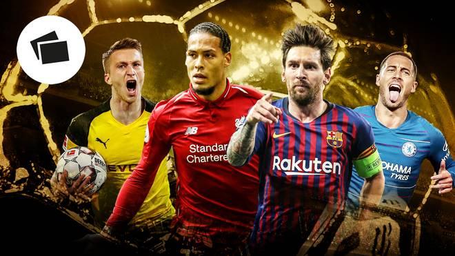 Wer gewinnt in diesem Jahr den Ballon d'Or?
