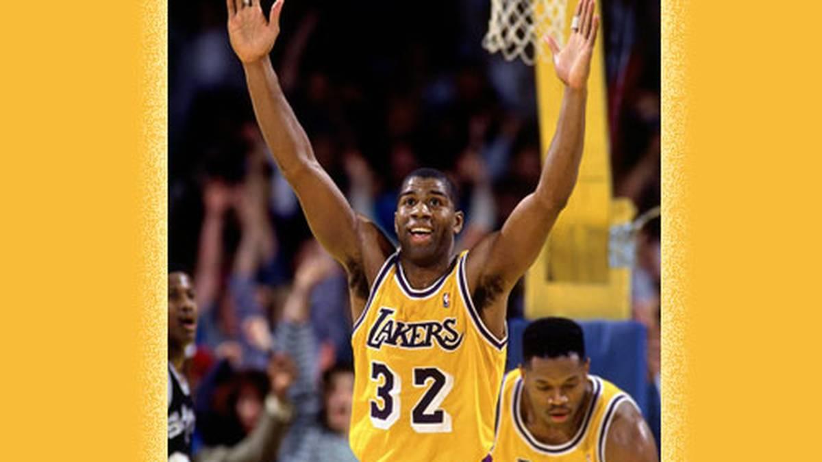 """Eine Legende wird 60! Earvin """"Magic"""" Johnson gilt als einer der besten Basketballer aller Zeiten. Als Spieler hat er alles gewonnen, was man nur gewinnen kann"""