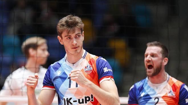 Tobias Krick spielt seit 2015 für die United Volleys