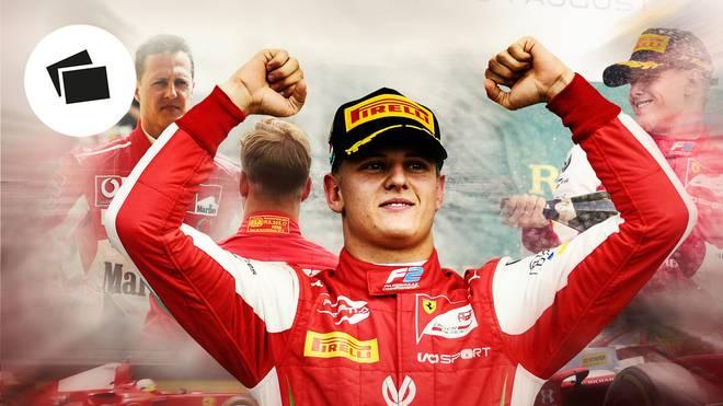 Mick Schumacher hat seinen ersten Formel-2-Erfolg gefeiert - die Formel 1 ist das Ziel