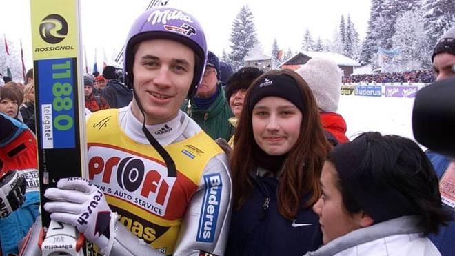 Martin Schmitt siegte dreimal in Oberstdorf - gewann die Tournee aber nie