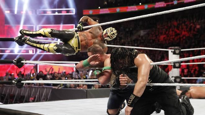 Rey Mysterio mischte schon zu Beginn des Jahres beim WWE Royal Rumble mit