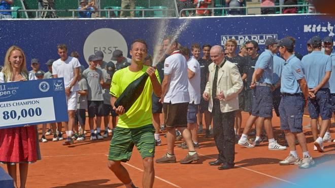 Philipp Kohlschreiber holt sich in Kitzbühel seinen zweiten Sieg auf der ATP-Tour außerhalb Deutschlands
