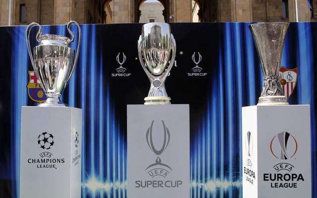 Der UEFA-Supercup wird am Donnerstag in Budapest vergeben