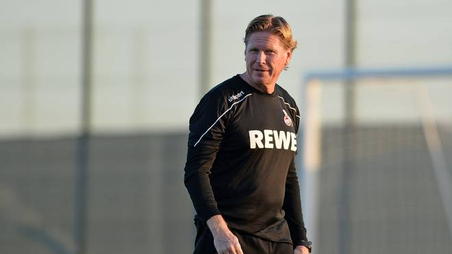 Markus Gisdol ist seit November 2019 Cheftrainer des 1. FC Köln
