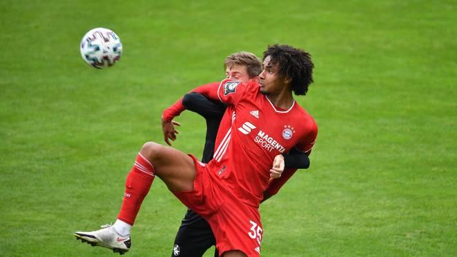 Joshua Zirkzee blieb beim FC Bayern München