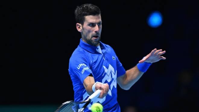 Djokovic gewann sein Auftaktmatch gegen Schwartzman