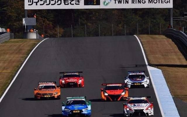DTM- und Super-GT-Autos gemeinsam auf der Strecke in Motegi