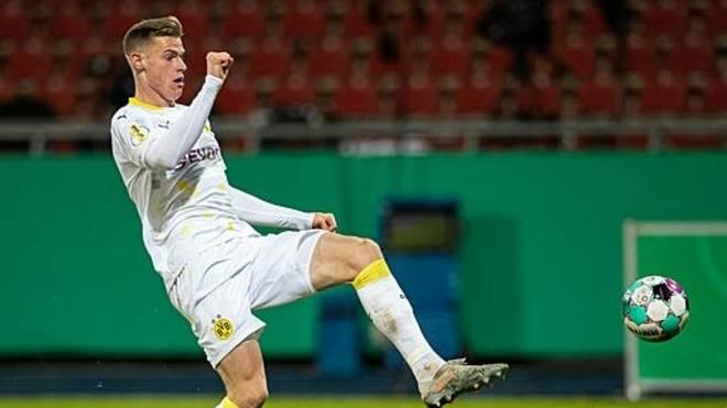 Steffen Tigges erhält bei Borussia Dortmund einen Profivertrag
