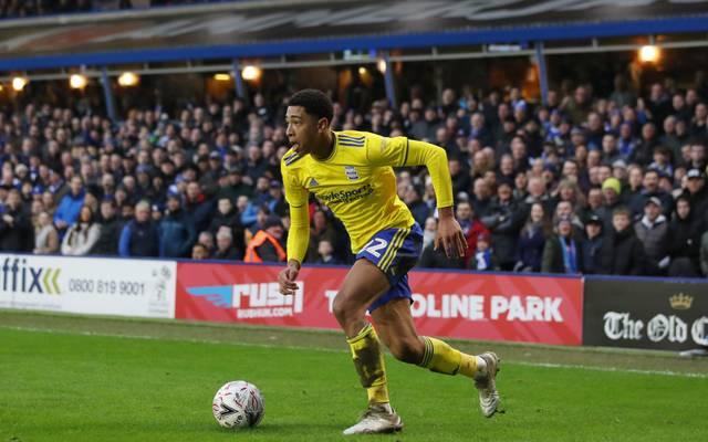 Jude Bellingham spielt für Birmingham City
