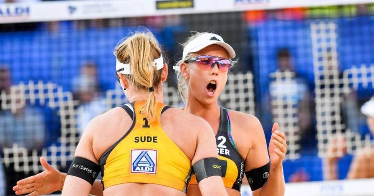 Beachvolleyball: Karla Borger/Julia Sude lehnen Turnier ab wegen Kleiderordnung - SPORT1