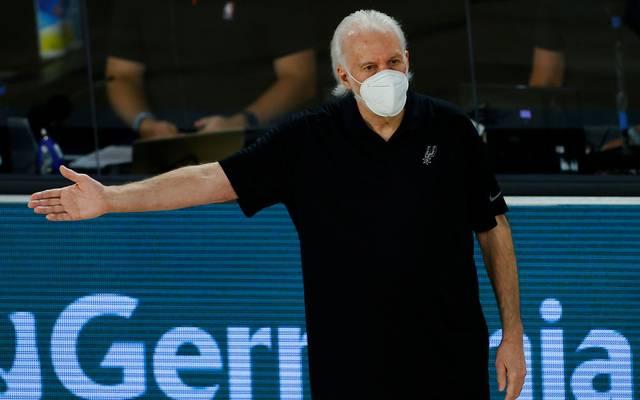 Gregg Popovich hat mit den San Antonio Spurs die NBA-Playoffs verpasst