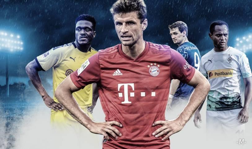 Thomas Müller ist mit seiner Reservistenrolle unzufrieden.Er grübelt. Und das öffentlich. Erstmals denkt das Bayern-Urgestein offen über einen Abschied nach und erhöht damit den Druck auf Niko Kovac, der ihn vor laufenden Kameras als Notnagel abgestempelt hatte. Aber er ist nicht allein auch Stars wie Javi Martínez, Dan-Axel Zagadou, Simon Terodde und Paulinho sind nur noch Bankdrücker in ihren Klubs. SPORT1 zeigt die prominentesten Bankdrücker der aktuellen Bundesliga-Saison