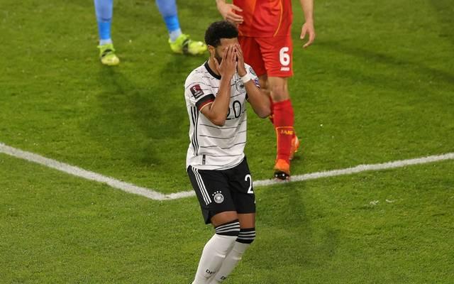 DFB-Team kassiert dritte Niederlage in der WM-Quali
