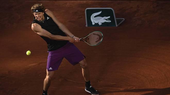 Alexander Zverev erreichte 2021 erstmals das Halbfinale der French Open