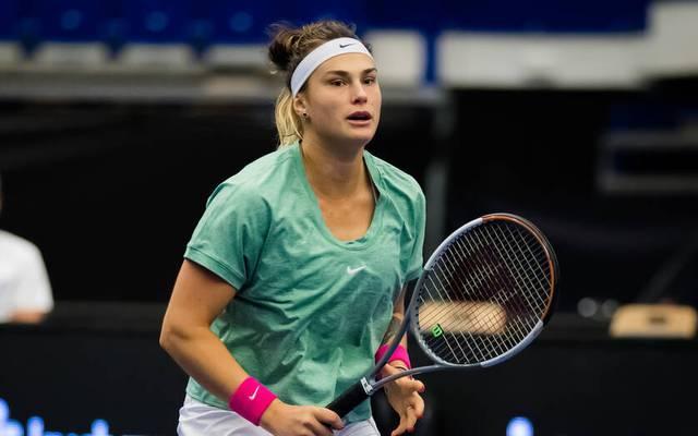 Aryna Sabalenka feierte in Ostrau ihren siebten Turniersieg