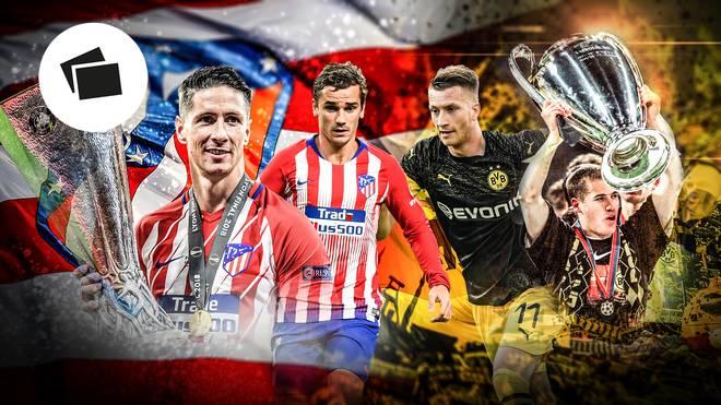 Atletico Madrid und BVB im großen Vergleich