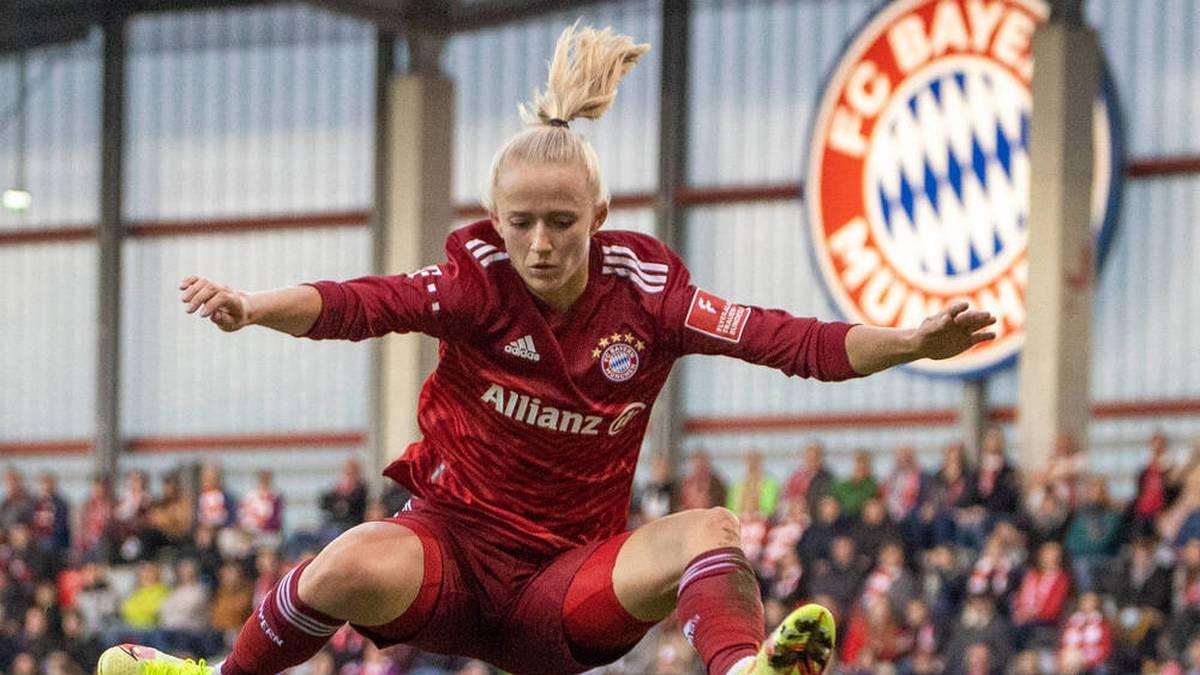 Lea Schüller spielt für den FC Bayern
