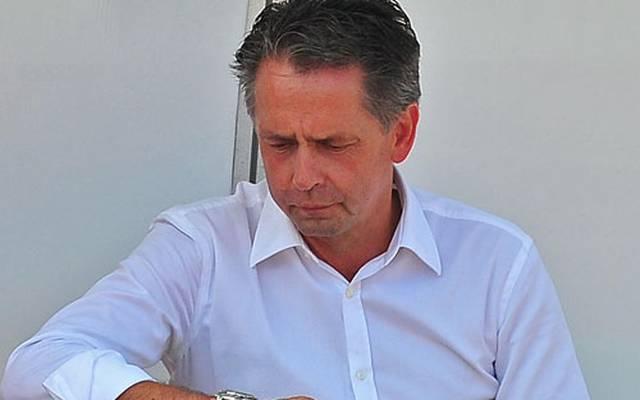 RW Erfurts Präsident Rolf Rombach
