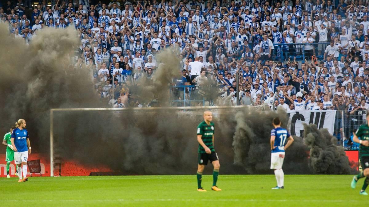 Kurios: Legia Warschau trotz Spielabbruch Meister