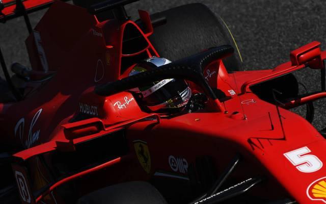 Auch Sebastian Vettel selbst blieb in Monza nicht frei von Fehlern
