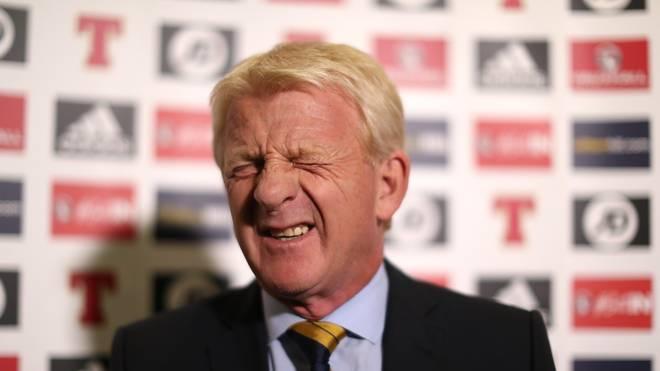 Gordon Strachan verpasste mit Schottland die WM 2018 in Russland