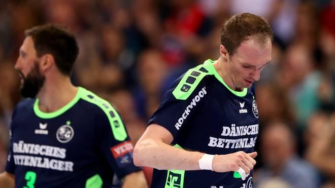Holger Glandorf musste sich mit Flensburg in der Champions League geschlagen geben