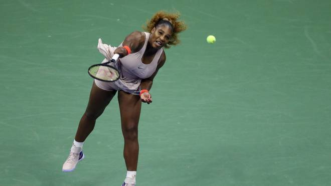 Serena Williams schlug in Runde 2 der US Open Margarita Gasparyan