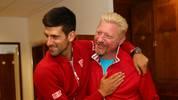 Novak Djokovic und Boris Becker gehen ab sofort getrennte Wege