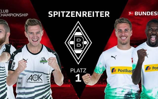 Borussia Mönchengladbach führt die Tabelle der VBL an