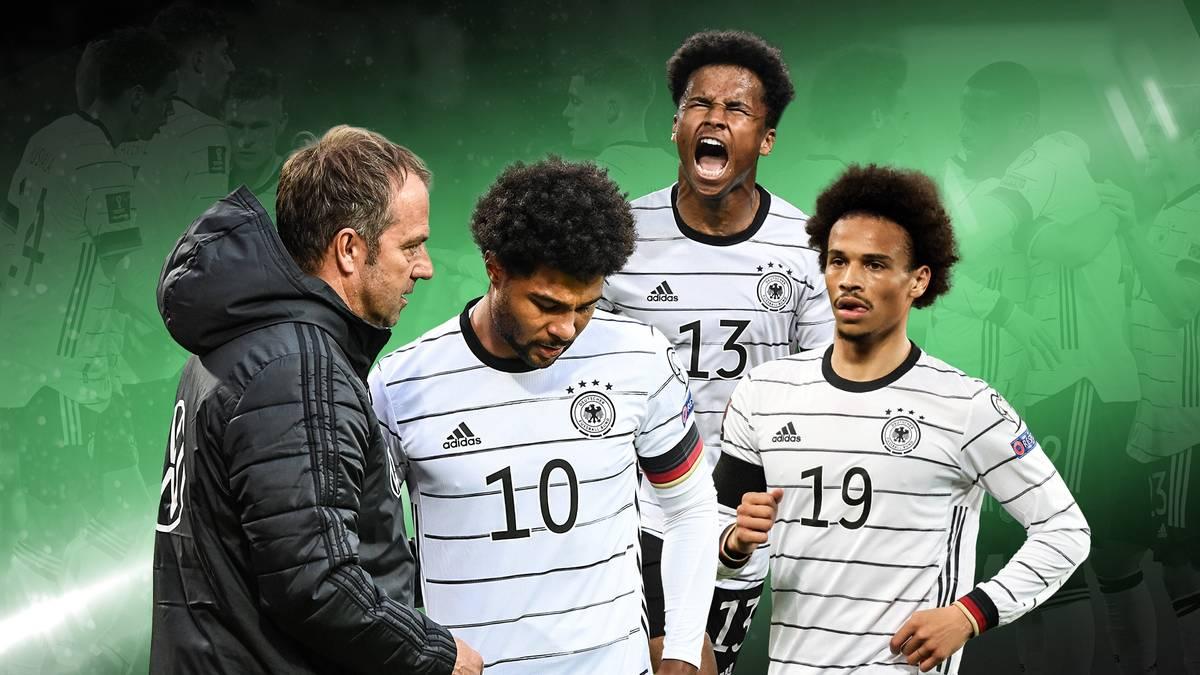 Mit drei Siegen aus 3 Spielen und 12:0 Toren ist das Debüt von Hansi Flick als Bundestrainer geglückt. Doch wer sind die Gewinner und Verlierer unter ihm?