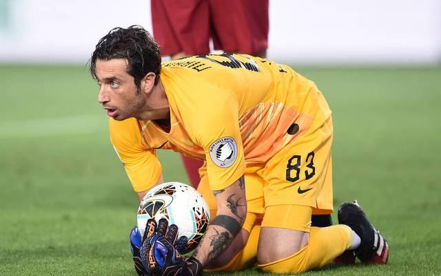 Antonio Mirante spielt seit 2018 bei AS Rom