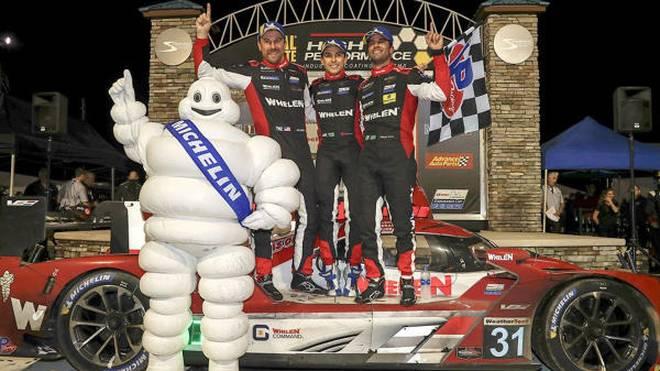 Pipo Derani siegte zum dritten Mal in vier Jahren bei den 12h Sebring