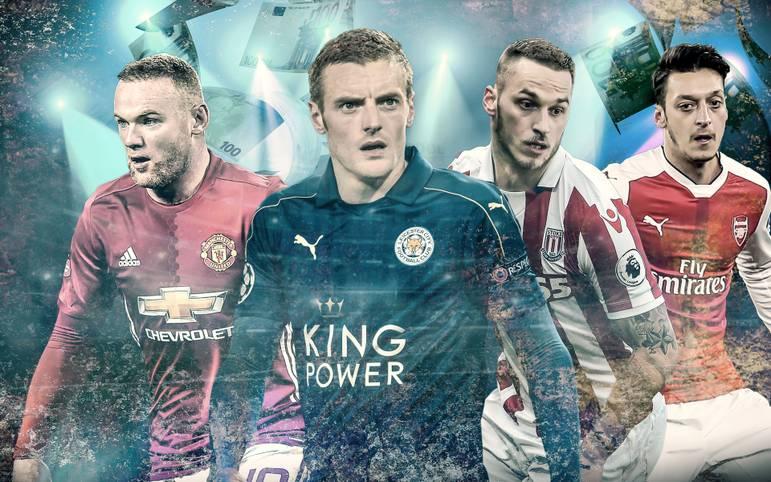 Der englische Fußball gilt als hart und unfassbar gut bezahlt. Doch welche Profis sahnen am meisten ab? SPORT1 zeigt das Ranking der Topverdiener der einzelnen Klubs